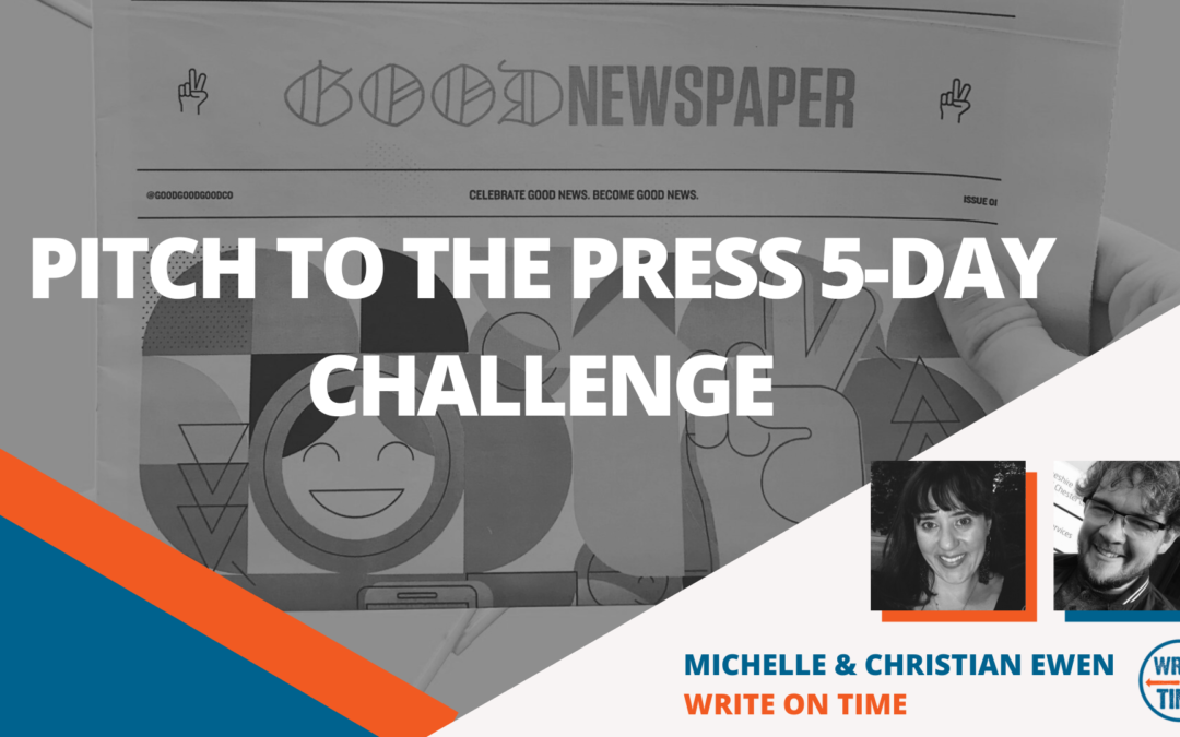 Free 5 Days to Pitch to the Press Challenge